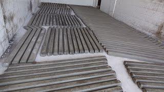 Beton çit direği ve kafes tel nasıl yapılır ?
