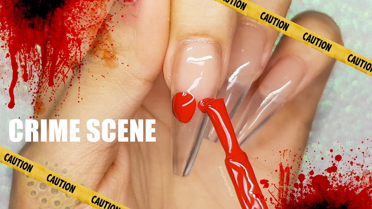 Coffin Nails Long Ombre Path Decorations Pictures Full