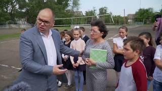 Одесский губернатор провел внезапную проверку пожарной безопасности в школе