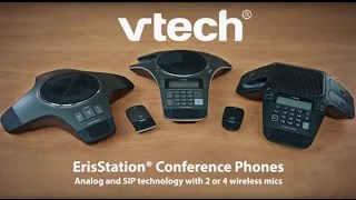VTech ErisStation®: Scalable Conference Phones for Small & Large Meetings