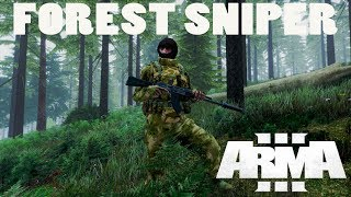 ARMA 3 Forest Sniper Gameplay - TVT/PVP Mission