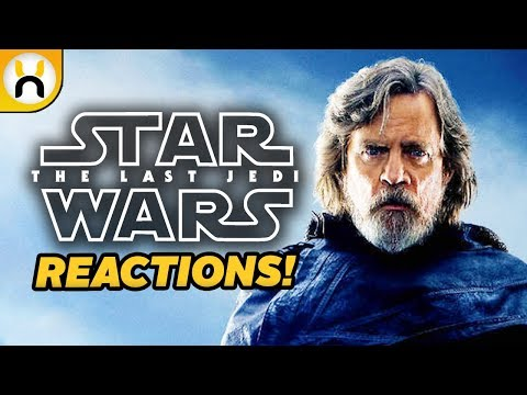"""The Last Jedi First Reactions Call it """"Best Star Wars Film Ever"""""""