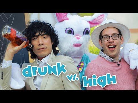 The Try Guys Drunk Vs. High Easter Egg Hunt