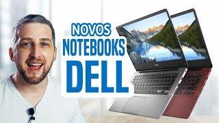 Novos Notebooks Dell i14 5480 | i15 7580 | XPS 13 | Lançamentos 2019 no Brasil