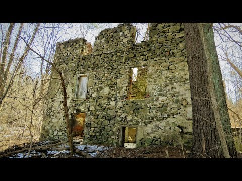 Awesome Ruins Of 1700's House At Ridley Creek State Park