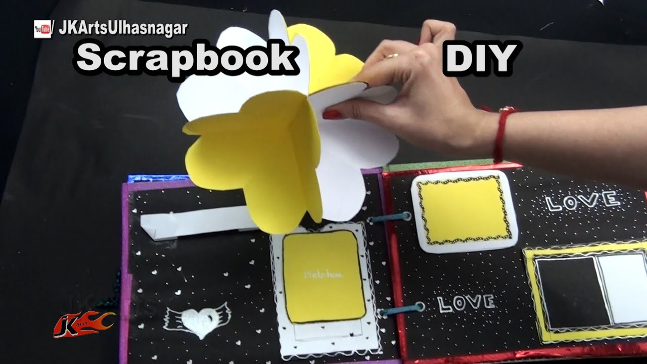 How to make a scrapbook 14 greeting cards scrapbook tutorial how to make a scrapbook 14 greeting cards scrapbook tutorial gift idea jk arts 1047 youtube m4hsunfo Images