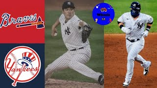 Yankees vs Braves Game 2 Highlights (Tanaka Time & Red Thunder) | (8/12/2020 Voiced by Wheels)