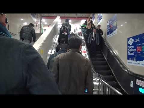 【Airport Walk】Fukuoka train station to check in Airline counter (5 min)