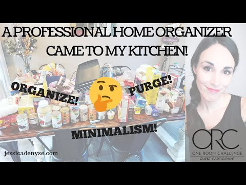 A Professional Organizer Came To My House! {How to Declutter Your Kitchen}