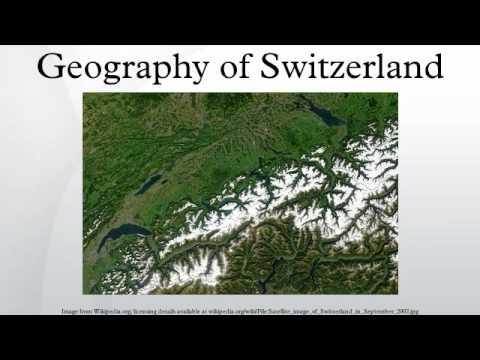 Geography of Switzerland