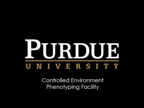 Purdue University: Controlled Environment Phenotyping Facility 2017