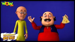 Motu Patlu New Episode | Cartoons | Kids TV Shows | Cheese Rat Trap | Wow Kidz