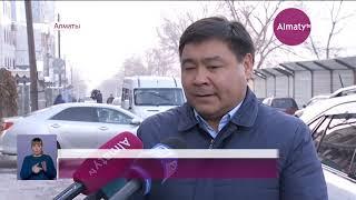 Женщину убило сосулькой в центре Алматы (20.11.18)
