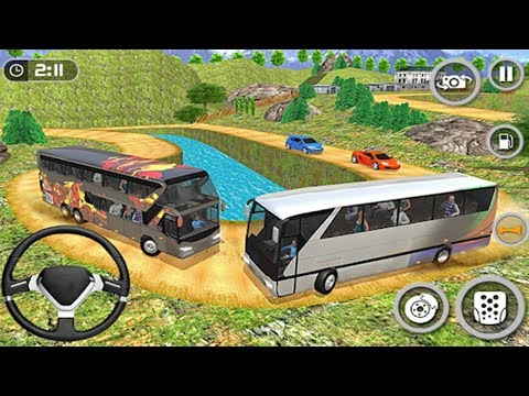 Coach Bus Simulator 2018 Mobile Bus Driving | Bus Transporter - Android GamePlay#3 FHD