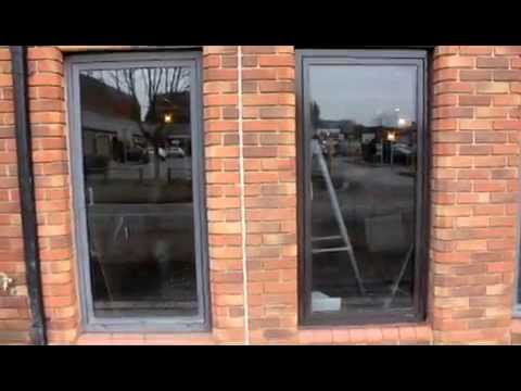 Aluminium Window Frame Restoration in Chertsey 0800 1577484 (purple-rhino.co.uk)