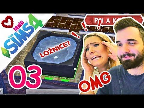 VÍŘIVKA V LOŽNICI?! DALŠÍ PEKELNÉ STAVĚNÍ - MY V SIMÍKÁCH 03 ● The Sims 4 w/Cvrcek55