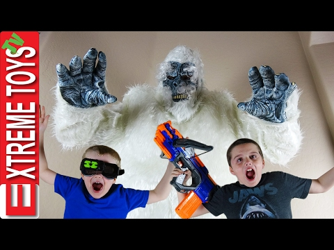 Yeti Monster Attack!