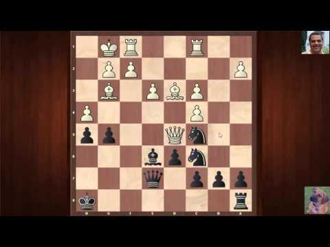 GM Ian Rogers notable chess game: vs Mario Lanzani : Budapest Gambit