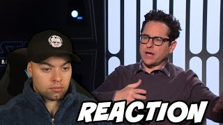 Reacting to JJ Abrams and Cast FULL Rise of Skywalker Interview