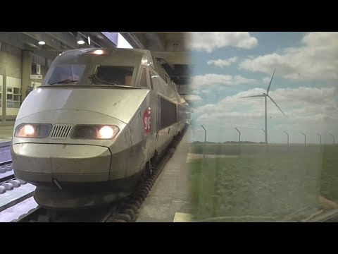 SNCF TGV Atlantique - Paris Montparnasse to Le Mans