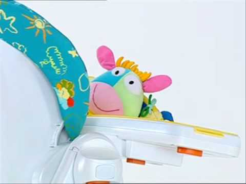 Chaises hautes polly magic chicco bimbomarket youtube for Chaise haute polly 2en1 chicco