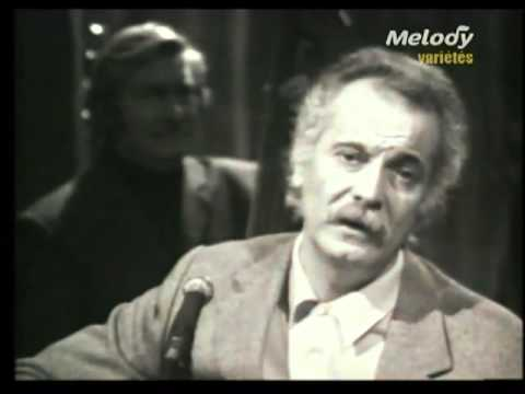 Georges Brassens   Nana Mouskouri   Duo   Le Petit Cheval Blanc 1972