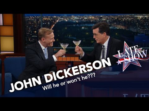 John Dickerson Adds Historical Perspective to Presidential Race