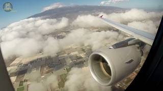 PERFECT Tenerife Views on Sundair Airbus A320 Takeoff from Tenerife South! [AirClips]