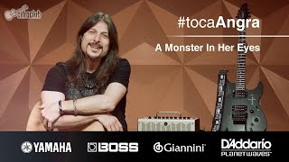 #tocaAngra | A Monster In Her Eyes - Angra (aula de violão)