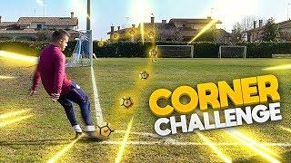 CORNER GOAL FREE KICK CHALLENGE!!! w/ Fius Gamer, Ohm, T4tino23