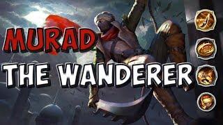 MURAD THE WANDERER GAMEPLAY!!! | STRIKE OF KINGS: TEST SERVER |