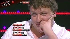 Top 5 Tony G on TILT! | Poker Legends