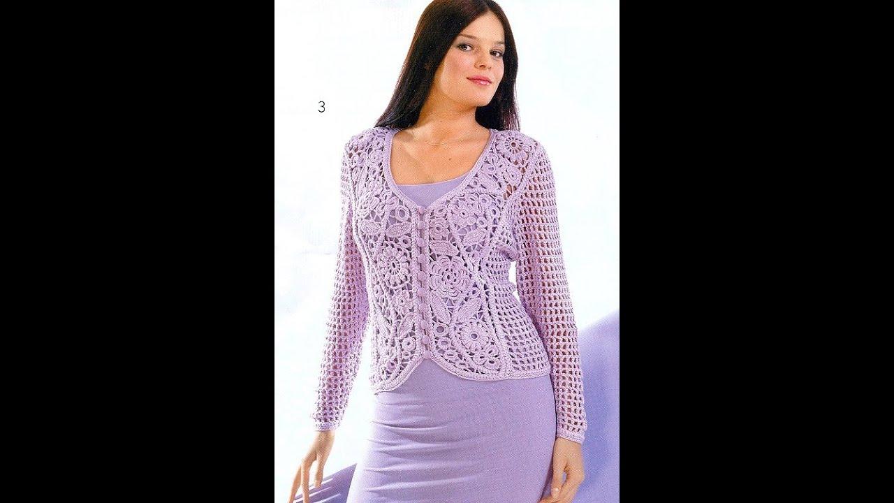 Вязание Спицами - Жилет Женский - 2018 / Knit - Women's Vest .