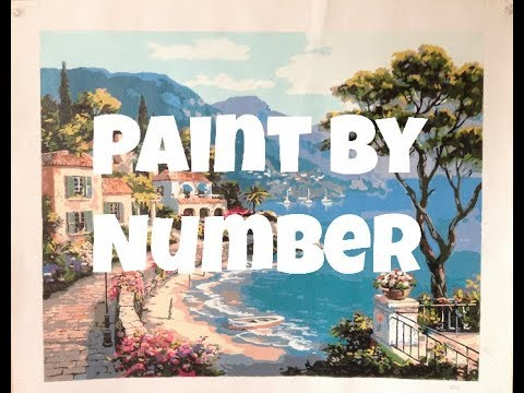 Paint by Number - Mediterranean Coast