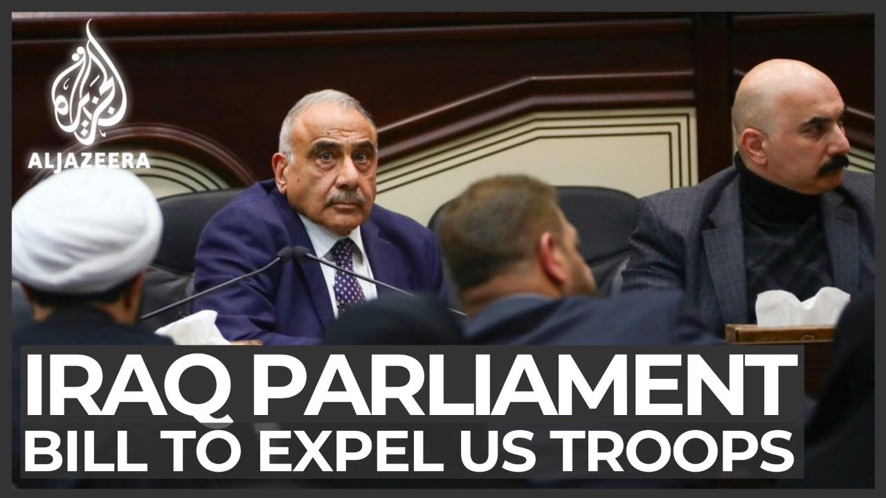 Iraqi parliament calls for expulsion of foreign troops