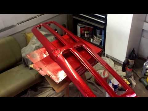 How to paint automotive metal Flake