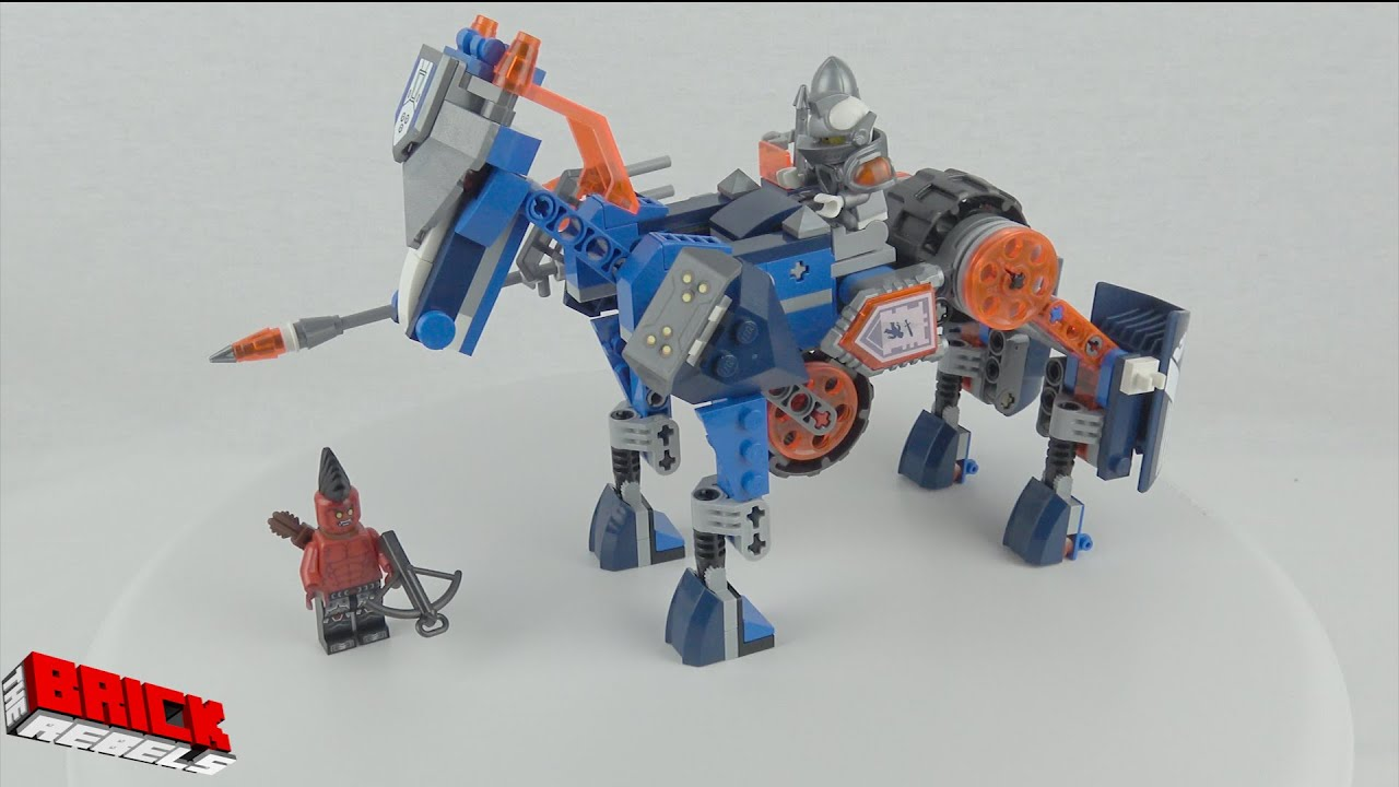 how to make a lego horse