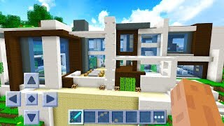 Worlds Biggest Minecraft Pocket Edition House!