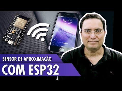 Sensor de aproximação com ESP32