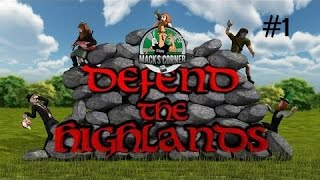 Defend the Highlands Let's Play - Hilarious Tower Defense with Drunken Scotsmen