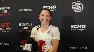UFC Liverpool: Lina Lansberg Would Like 'Nice Fight' With Bethe Correia Next  - MMA Fighting