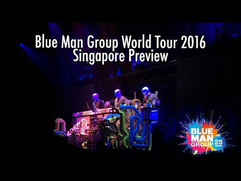 Blue Man Group 2016: Singapore Media Night