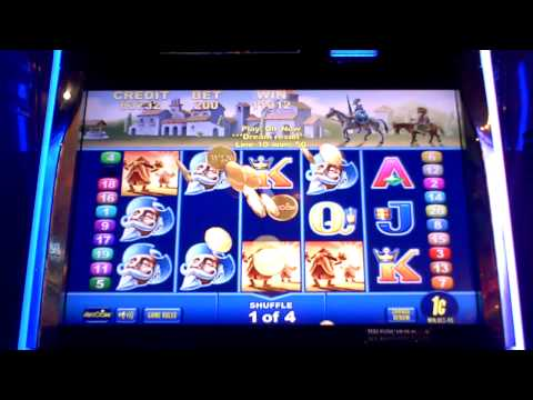 Don Quixote bonus slot win on remix game at Sugar House