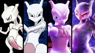 Evolution of Pokemon MEWTWO Through the Years 1996 to 2019