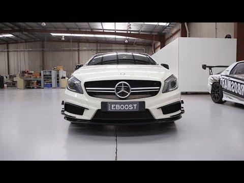 Turbosmart Kompact Dual Port BOV Kit for Mercedes-Benz CLA45 AMG GLA45 AMG