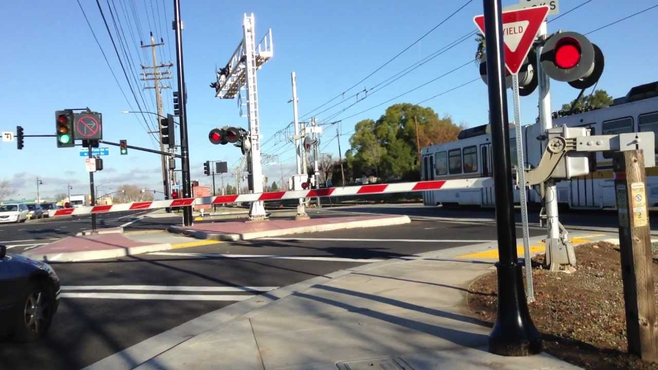Railroad crossings signals metro light rail in sacramento on mather railroad crossings signals metro light rail in sacramento on mather aloadofball Images