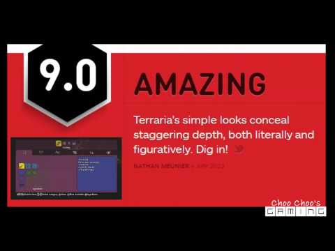 Breaking Terraria News : Playstation 3 and xbox 360 IGN Gives 9/10 Rating.