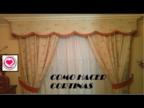 Costura como hacer cortinas decora tu hogar muy f cil for Como hacer un bando para cortinas