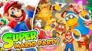 ¡Empieza la fiesta! - 01 - Super Mario Party (Switch) con Naishys