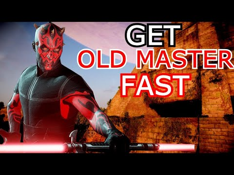 This Is The Fastest Way To Get The Old Master Maul! Old Master Challenge Tips \u0026 Tricks-Battlefront 2
